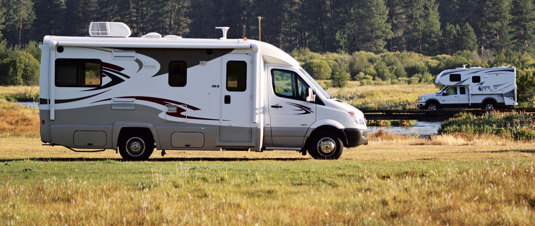 Rv Types Motorhomes Travel Trailers Campers And Park Models Go Rving Canada