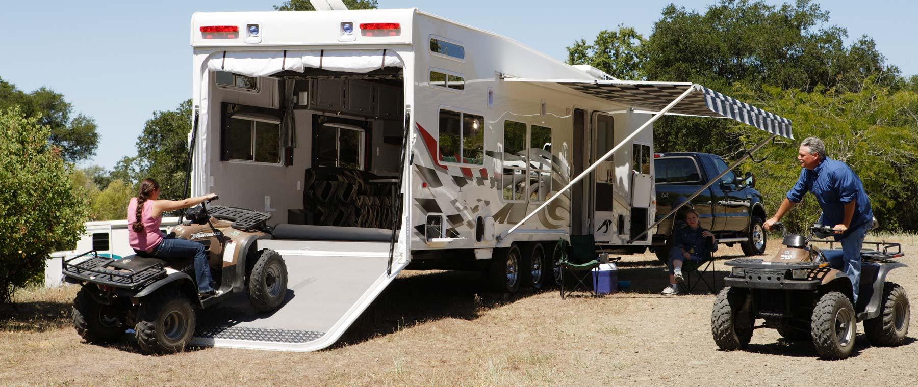 Toy Hauler RV Trailers - Go RVing Canada