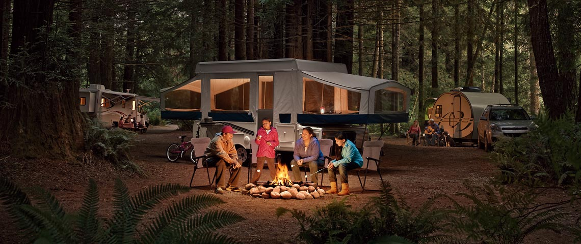 Camping with your RV