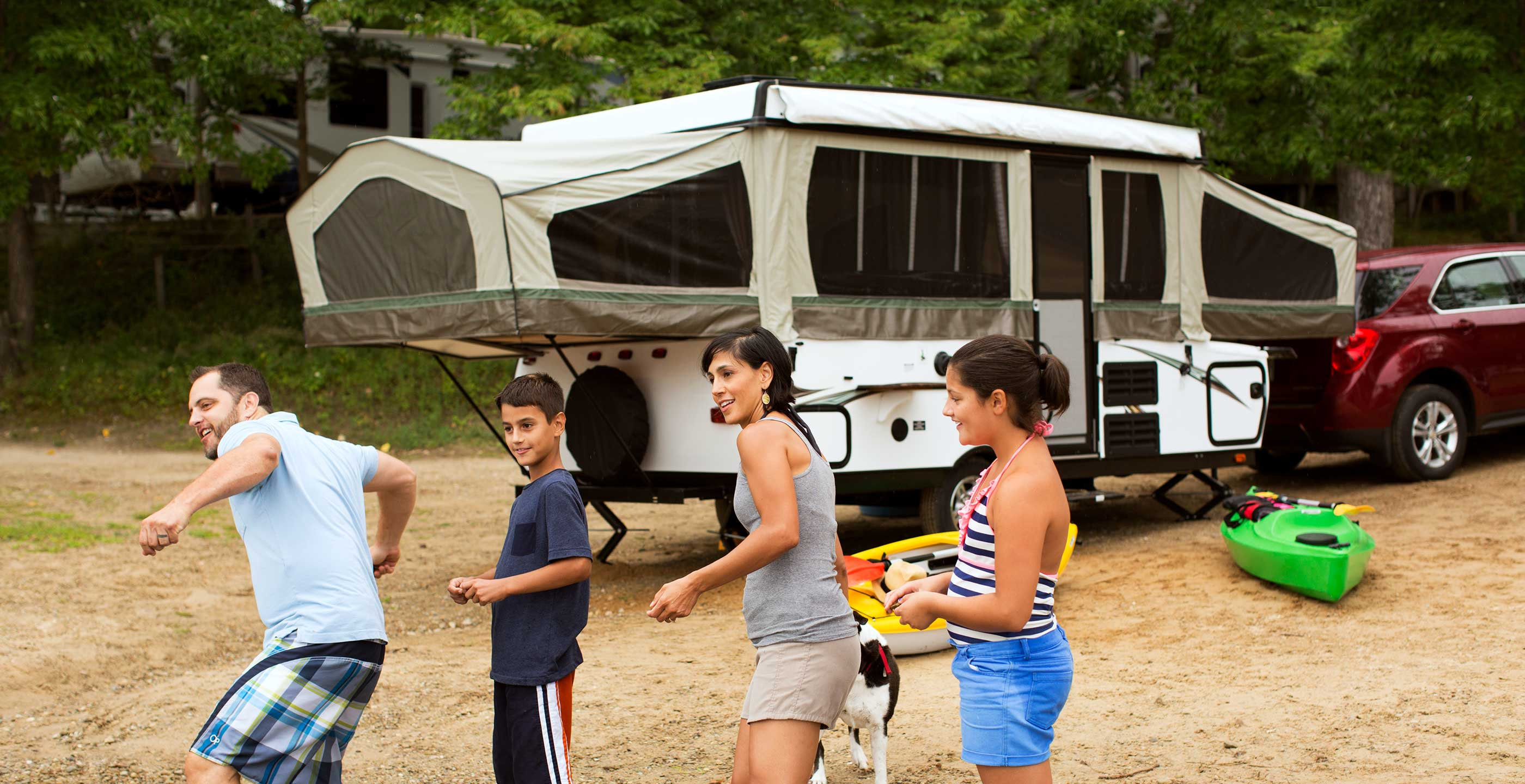 Tent Camping Trailer - Pop up Trailers