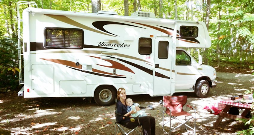 Camping with an infant: Let's go RVing!