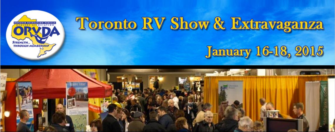 Toronto RV Show 2015