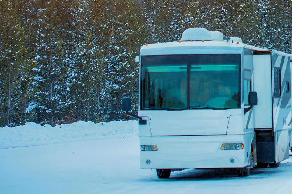 9 Steps to take to winterize your RV - GoRVing Canada