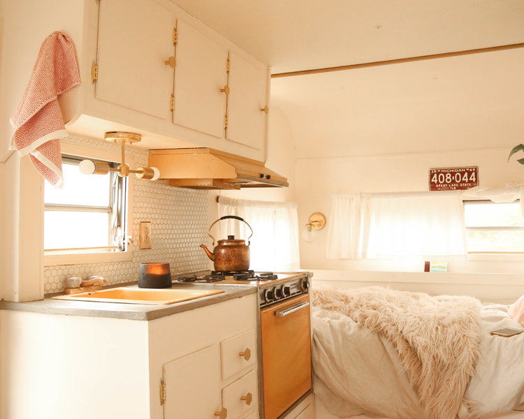 Glamping for the win! 5 Fantastic vintage camper renos - GoRVing Canada