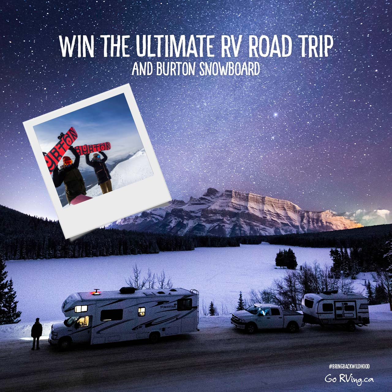 Ultimate RV Road Trip and Snowboard Contest - GoRVing Canada