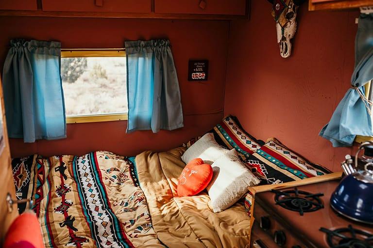 cozy RV Bedroom