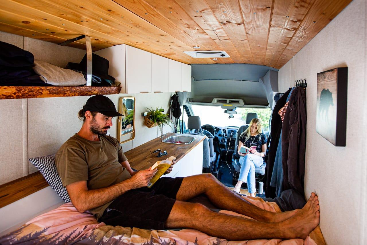 renting camper van