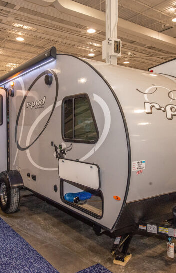 teardrop rv at rv show