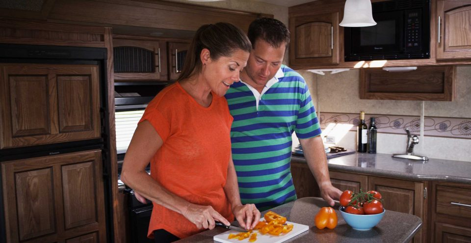 cooking in rv