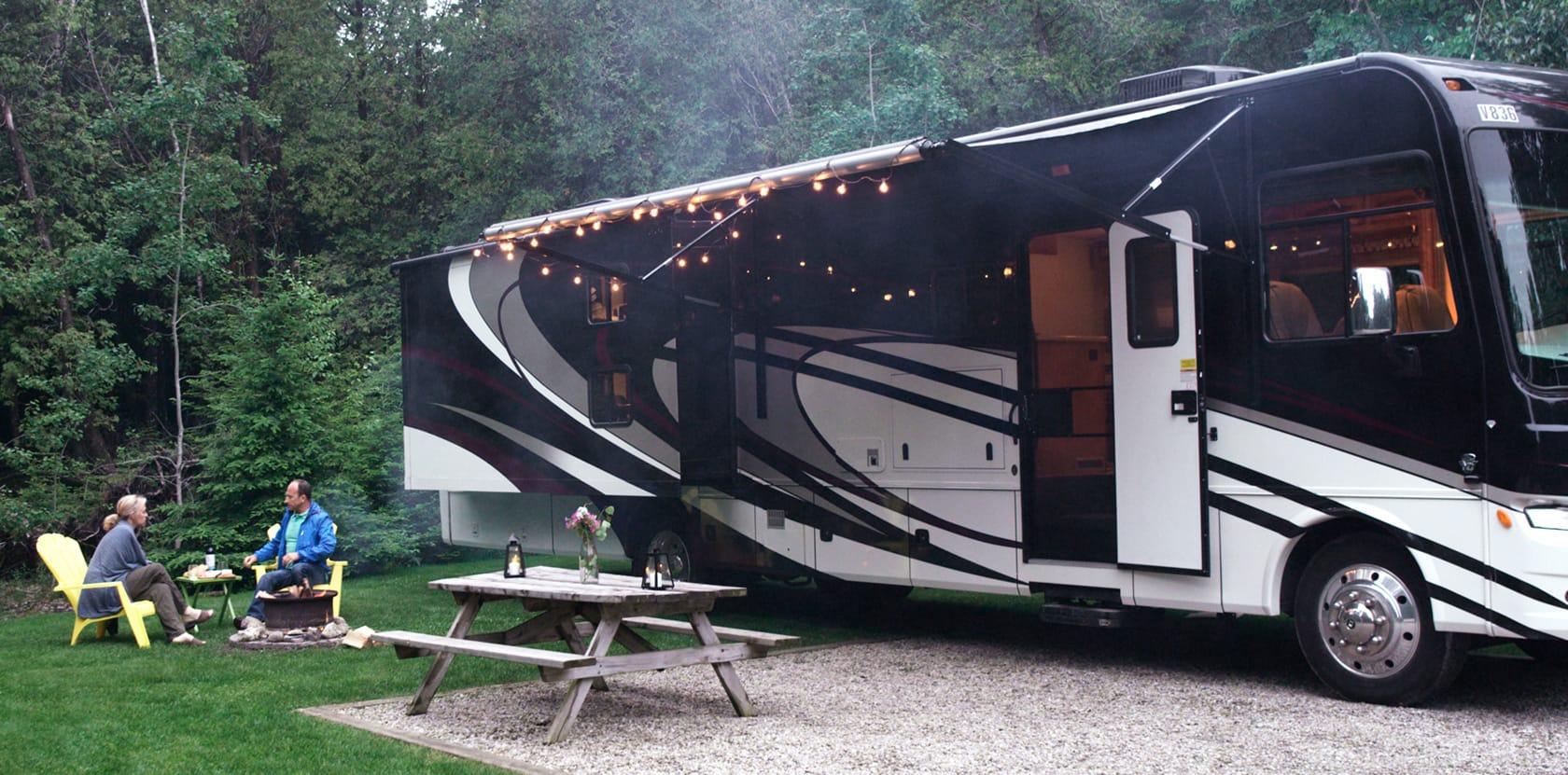 motorhome ontario camping