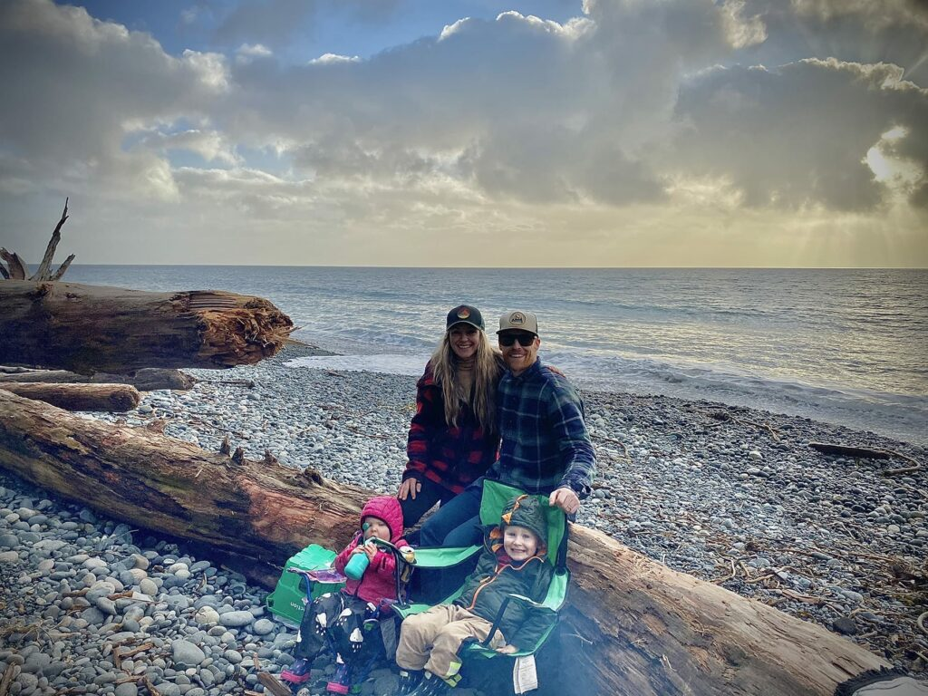 Jon Montgomery and Family